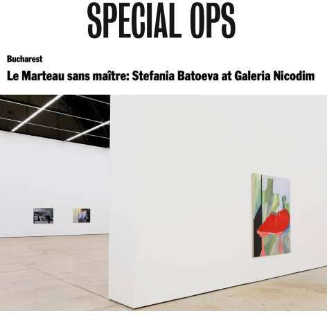 Le Marteau sans maître: Stefania Batoeva at Galeria Nicodim