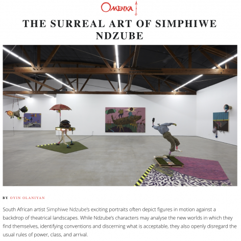 The Surreal Art of Simphiwe Ndzube