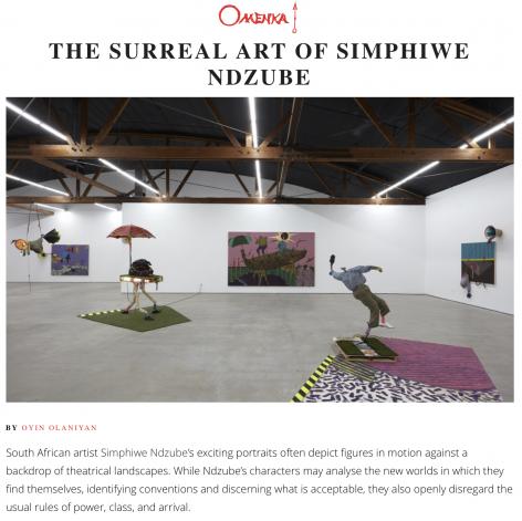 The Surreal Art of Simphiwe Ndzube