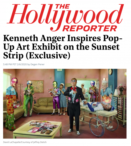 Kenneth Anger Inspires Pop-Up Art Exhibit on the Sunset Strip