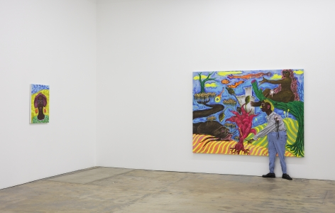 Simphiwe Ndzube Installation Gallery Nicodim Art Painting