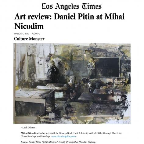 Review: Daniel Pitin at Nicodim