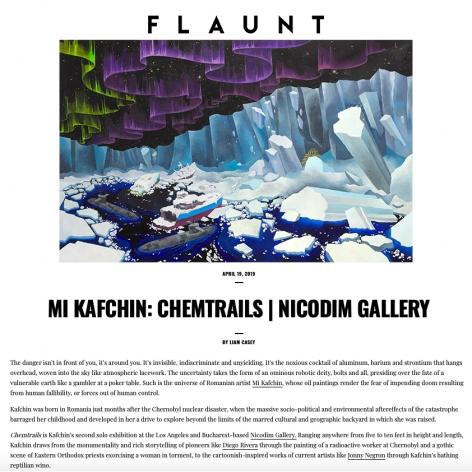 FLAUNT: Mi Kafchin - Chemtrails
