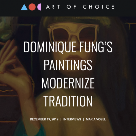 Dominique Fung's Paintings Modernize Tradition