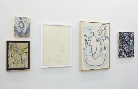 Devendra Banhart The Grief I Have Caused You at Nicodim Gallery paintings art 2021
