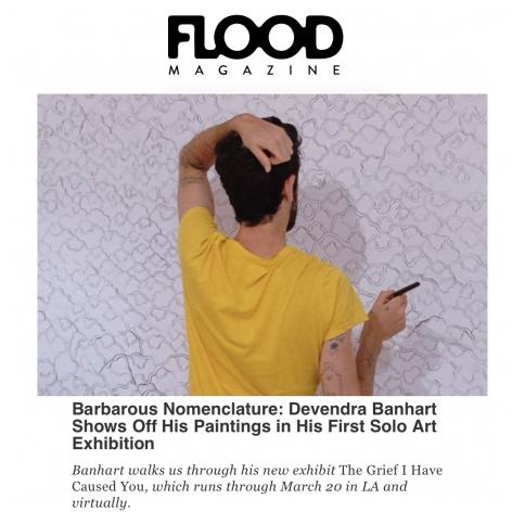 Barbarous Nomenclature: Devendra Banhart Shows Off His Paintings at Nicodim