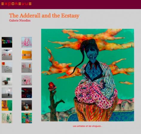 The Adderall and the Ecstasy featured in e x p o r e v u e