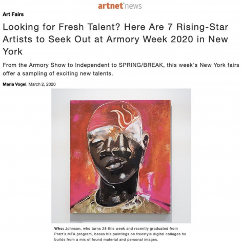 Devin B. Johnson a 'Rising Star' to Watch at the 2020 Armory Show