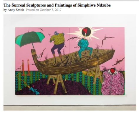 The Surreal Sculptures and Paintings of Simphiwe Ndzube