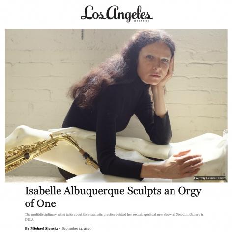 Isabelle Albuquerque Sculpts an Orgy of One
