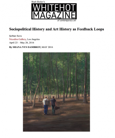 Sociopolitical History and Art History as Feedback Loops