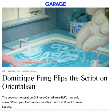 Dominique Fung Flips the Script on Orientalism