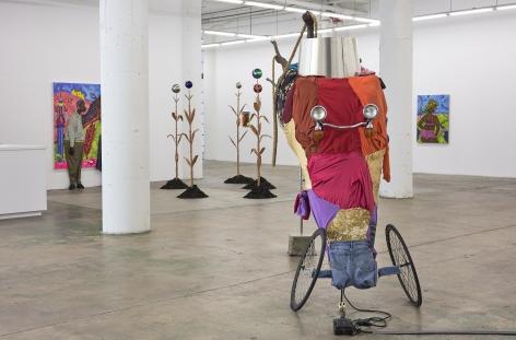Simphiwe Ndzube Installation Gallery Nicodim Art Painting Sculpture