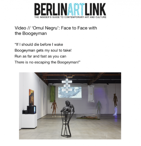 'Omul Negru': Face to Face with the Boogeyman