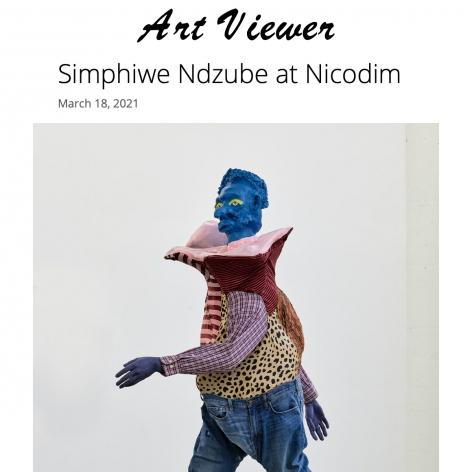 Simphiwe Ndzube at Nicodim