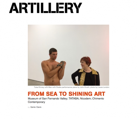 BioPerversity's Opening Reception featured in Artillery