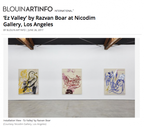 'Ez Valley' featured in Blouin Art Info