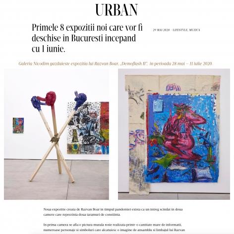 Razvan Boar's Exhibition is One to See in Bucharest
