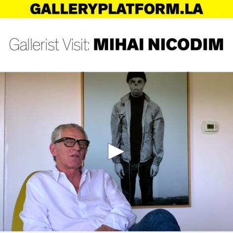 Gallerist Visit: Mihai Nicodim