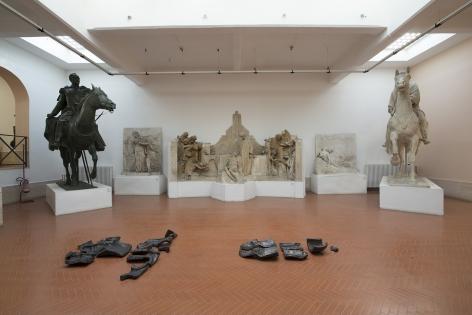 Ciprian Muresan at Museo Pietro Canonica in Villa Borghese, Rome