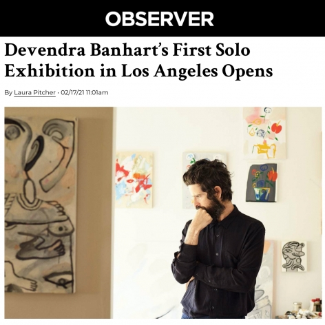 Devendra Banhart's First Solo Exhibition Opens in Los Angeles
