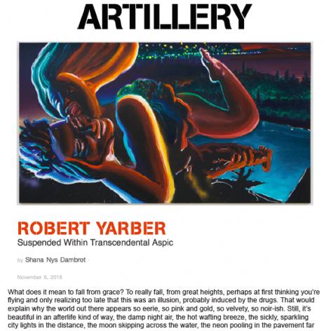 Robert Yarber: Suspended Within Transcendental Aspic