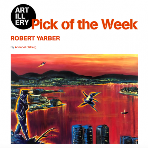 Robert Yarber: Return of the Repressed named Pick of the Week