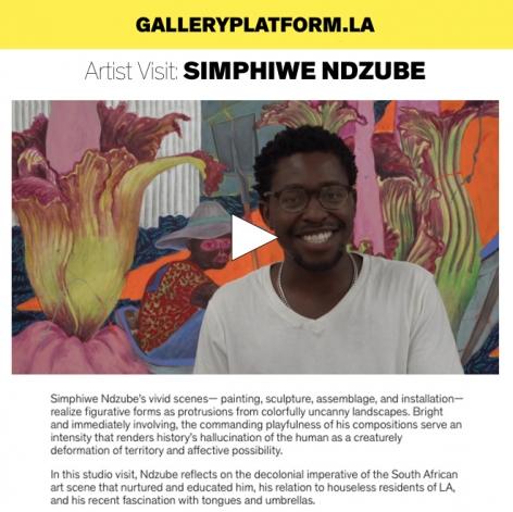 Artist Visit: Simphiwe Ndzube