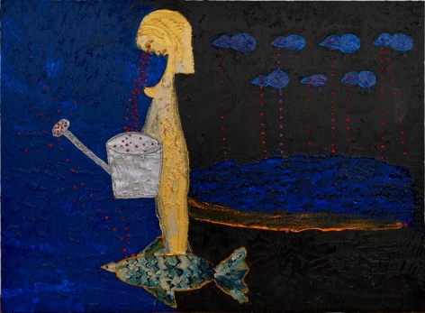 Review: Myth and mystery in Ecaterina Vrana's paintings at Nicodim Gallery