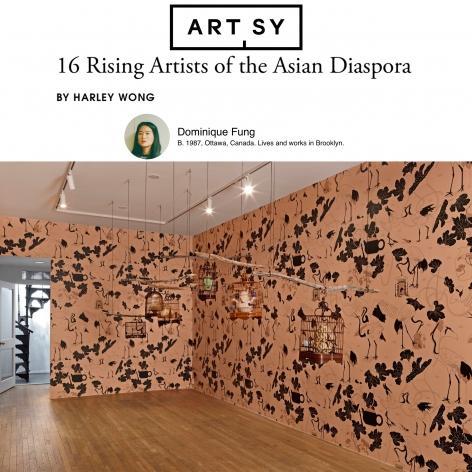 Dominique Fung in '16 Rising Artists of the Asian Diaspora'