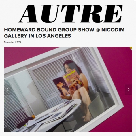 Homeward Bound Group Show at Nicodim Gallery in Los Angeles