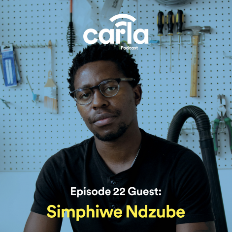 Simphiwe Ndzube on the CARLA Podcast