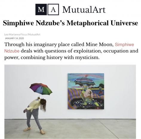 Simphiwe Ndzube's Metaphorical Universe