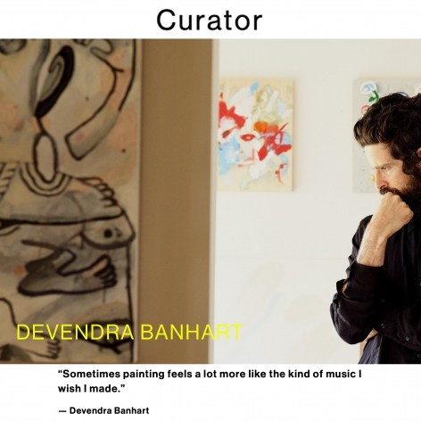 Devendra Banhart Interviewed by Curator