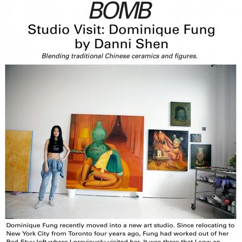 Studio Visit: Dominique Fung