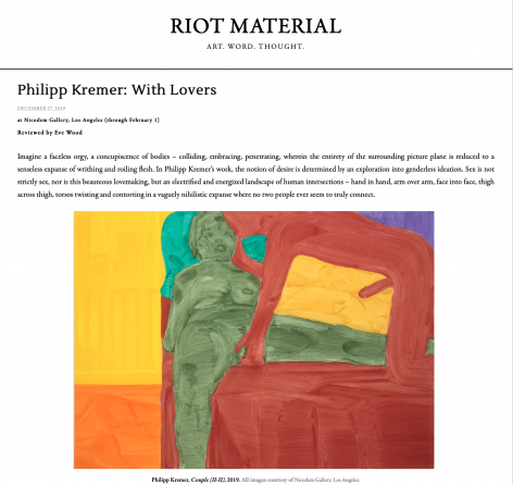 With Lovers reviewed by Eve Wood in Riot Material