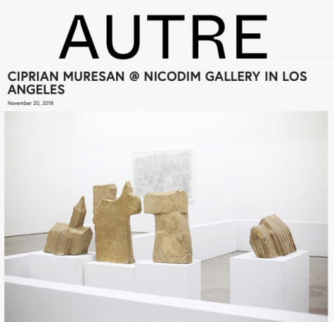 Ciprian Muresan's Solo Show in Los Angeles feature in Autre