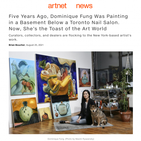 Five Years Ago, Dominique Fung Was Painting in a Basement Below a Toronto Nail Salon. Now, She's the Toast of the Art World