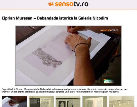 SensoTV.ro: Debandada istorica la Galeria Nicodim