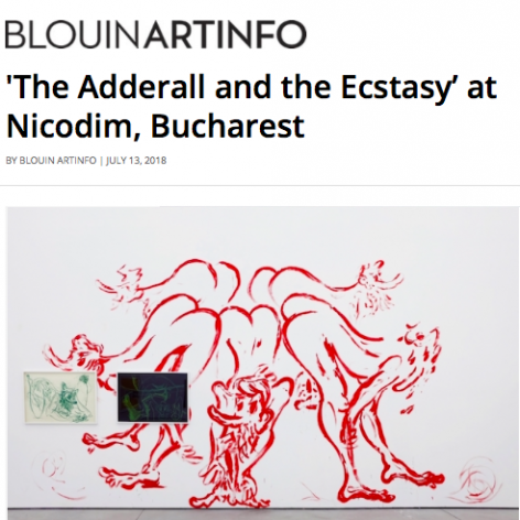 The Adderall and the Ecstasy in BlouinArtInfo