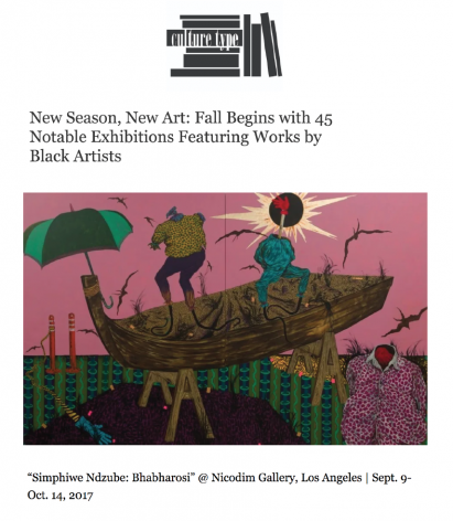 New Season, New Art: Fall Begins with 45 Notable Exhibitions Featuring Works by Black Artists