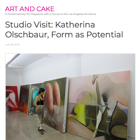 Studio Visit: Katherina Olschbaur, Form as Potential
