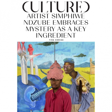 30 Under 35: Simphiwe Ndzube Embraces Mystery as a Key Ingredient