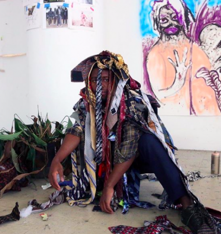 Join Curate LA's Virtual 'INXS' Gallery Walkthrough with Simphiwe Ndzube