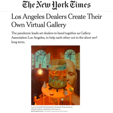 Los Angeles Dealers Create Their Own Virtual Gallery