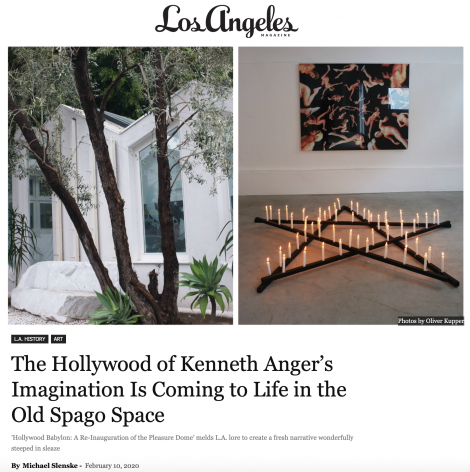 The Hollywood of Kenneth Anger's Imagination Is Coming to Life in the Old Spago Space