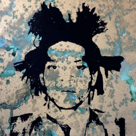 Charles Lutz - Andy Warhol - denied- painting - contemporary art - Basquiat