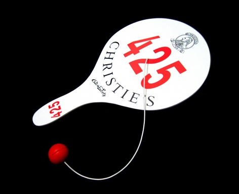 Paddle ball game - edition - new museum - limited edition - Christie's