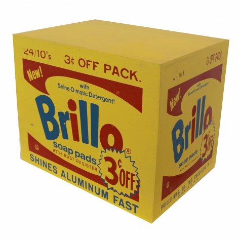 Charles Lutz - Contemporary Art - brillo box - Andy Warhol - Sculpture