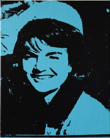 Charles Lutz - Andy Warhol - denied- painting - contemporary art - Jackie Kennedy